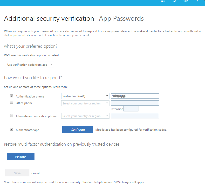 Hardware MFA tokens for Office 365 / Azure cloud Multi-factor authentication