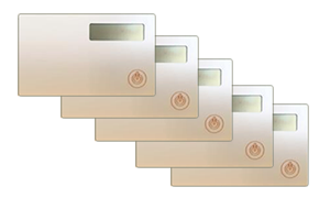 Token2 miniOTP-1-NB (nonbranded) card - 5 pack