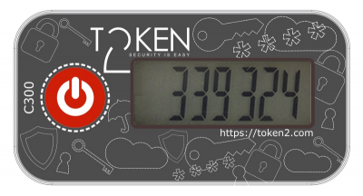 Token2 C300 programmable keyfob token