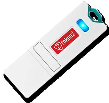 Token2 T2U2F Security USB Key - FIDO U2F Only