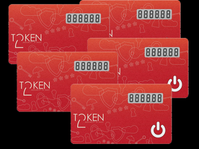 Token2 miniOTP-1 cards -5 pack
